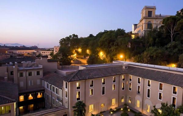 VOI Donna Camilla Savelli Hotel отель 4 звезды в Риме Трастевере