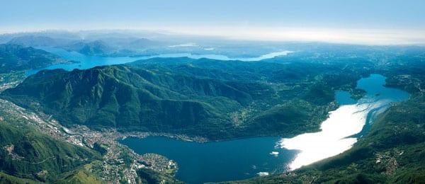 Вид на озеро д'Орта
