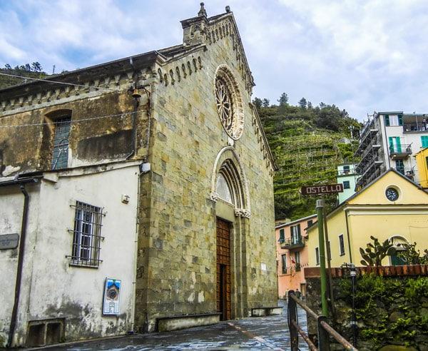 Церковь святого Лаврентия Манарола