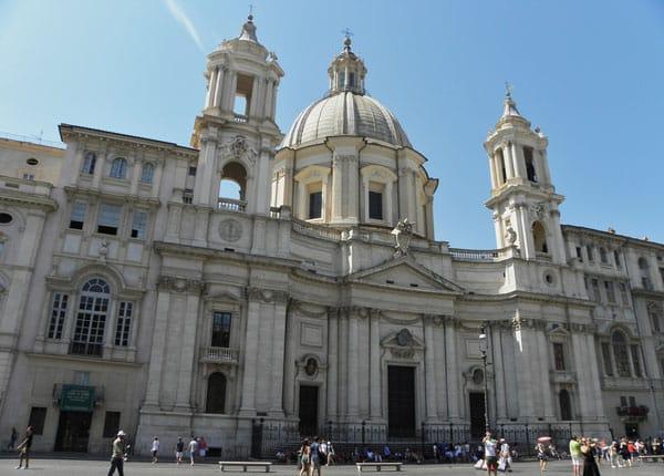 Церкви Рима - Сант-Аньезе-ин-Агоне