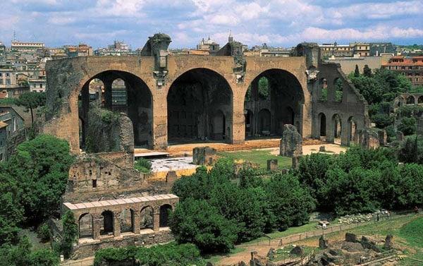 Церкви Рима - Базилика Максенция и Константина