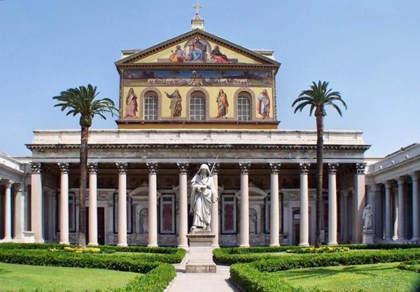 Церкви Рима - Сан-Паоло-фуори-ле-Мура