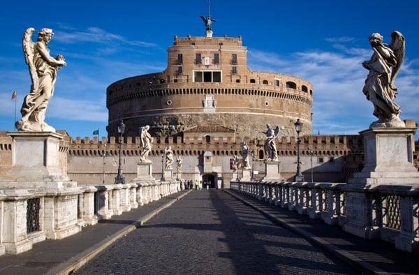 Церкви Рима - Замок Святого Ангела