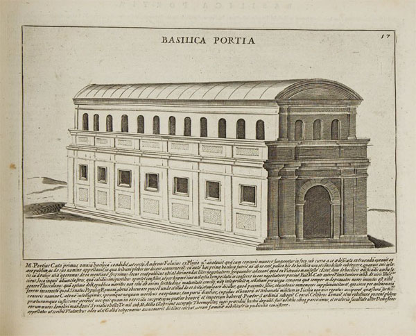 Римский форум - Базилика Порция