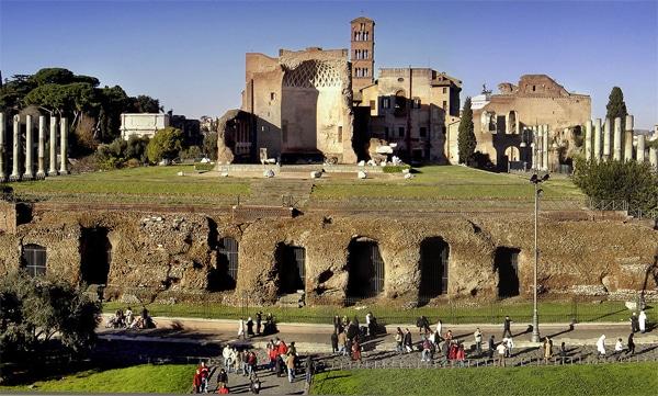 Римский форум - Храм Венеры и Ромы