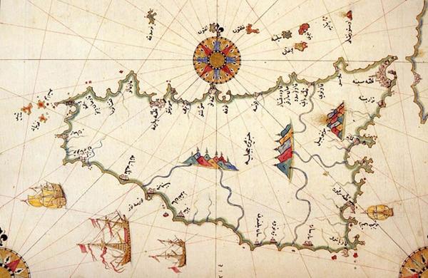 История Палермо - Арабская карта Сицилии