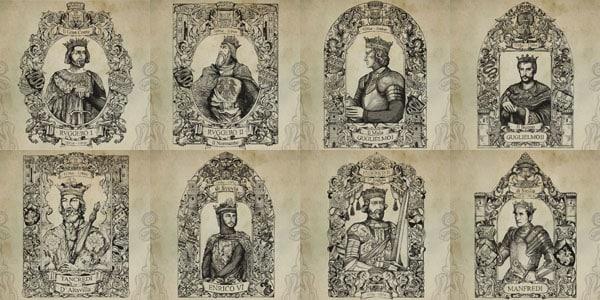 История Палермо - короли Сицилии