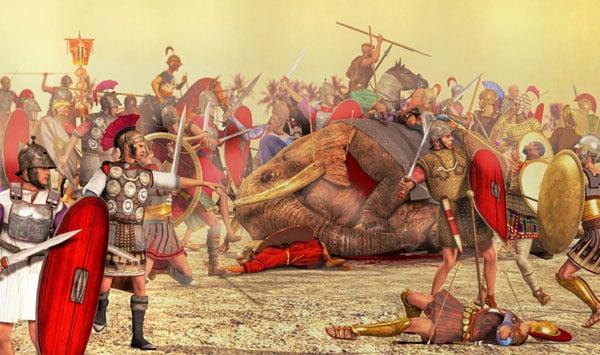 История Палермо - Пуническая война