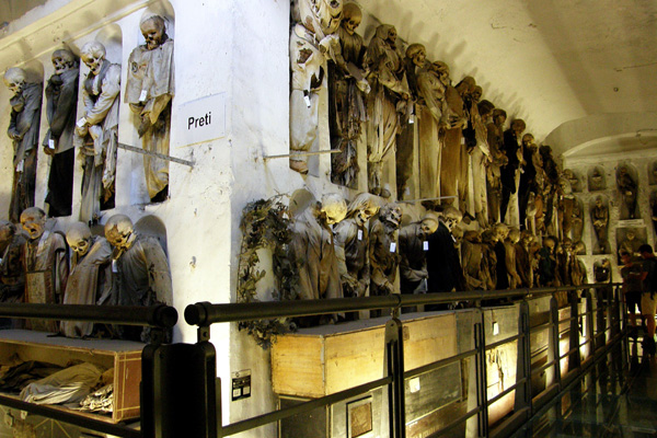 Музеи Палермо - Катакомбы капуцинов