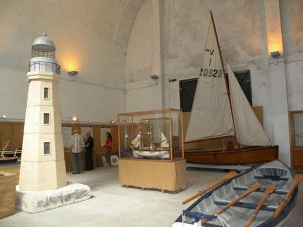 Экспозиция Морского музея в Палермо