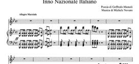 Гимн Италии ноты