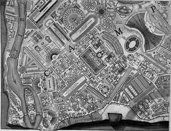 Марсово поле в Риме