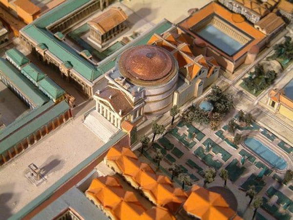 Марсово поле в Риме - Пантеон