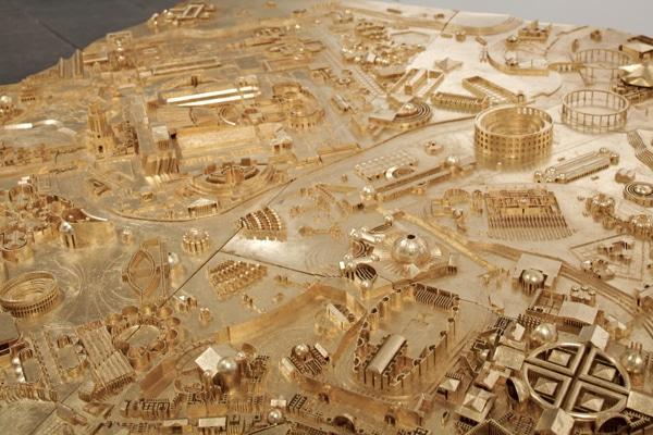 Марсово поле в Риме - Реконструкция Пиранези