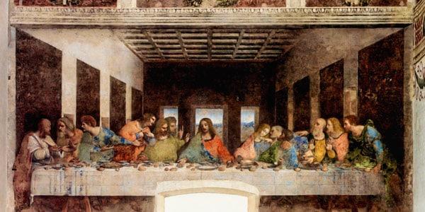 "Il Cenacolo фреска ""Тайная вечеря"" Санта Мария делла Грацие"