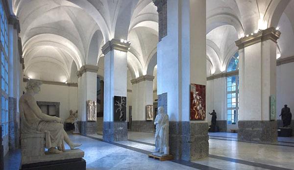 Археологический музей Неаполя - экспозиция