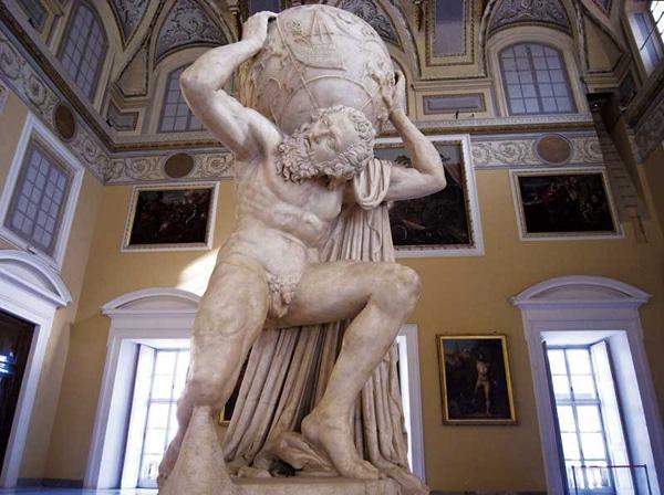 Археологический музей Неапля - Статуя Титана