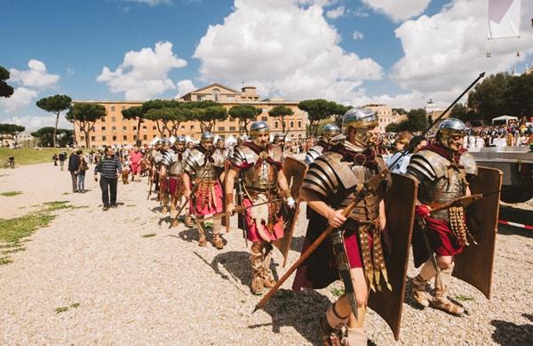 Рим - День города, начало праздника