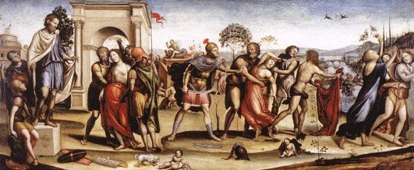 римляне похищают сабинянок легенда