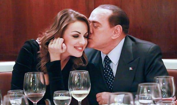 Франческа Паскале и Сильвио Берлускони