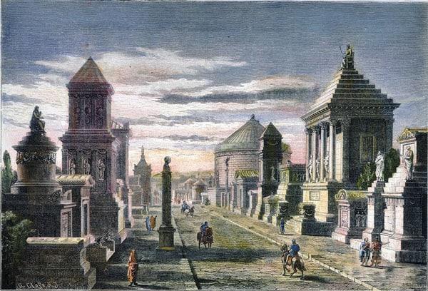 Аппиева дорога в Риме - Во времена расцвета