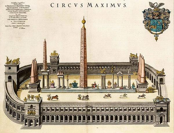 Circo Massimo Большой цирк в Риме