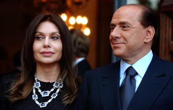 Вероника Ларио вторая жена Сильвио Берлускони