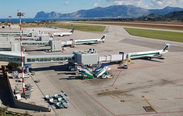 Аэропорт Палермо - Взлетные полосы