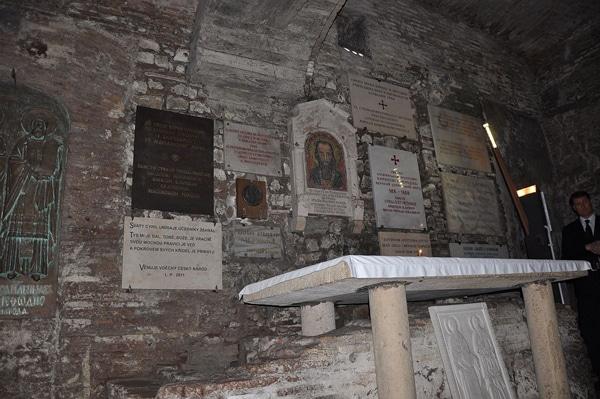 Базилика Сан-Клементе - гробница святого Кирилла