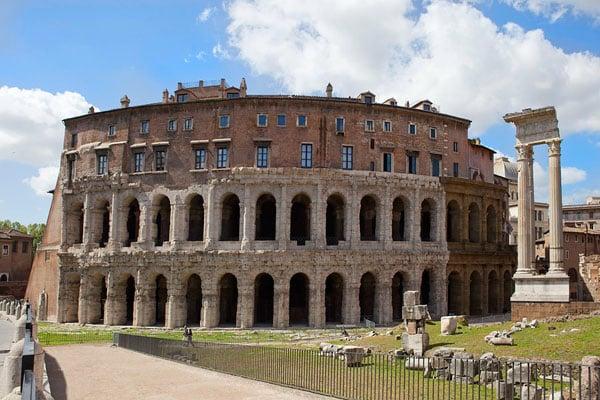 Театры Рима - Театр Марцелла
