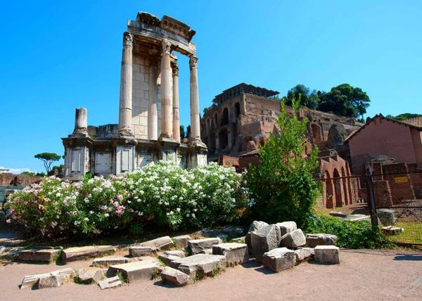 Храм Весты в Риме - Руины
