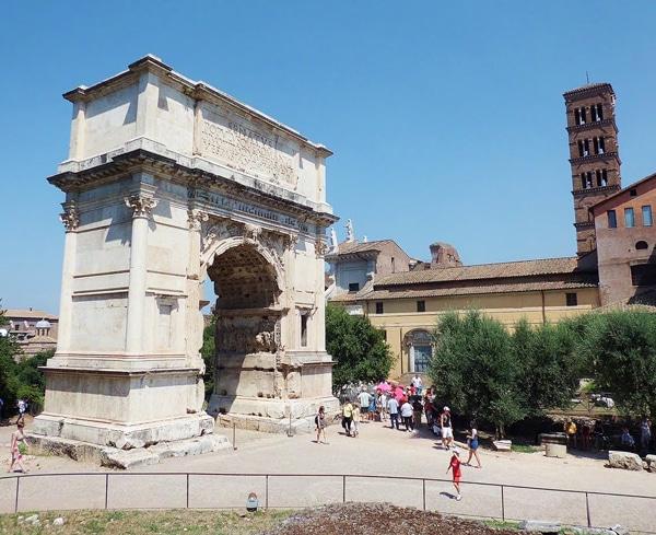 Арки в Риме - Арка Тита