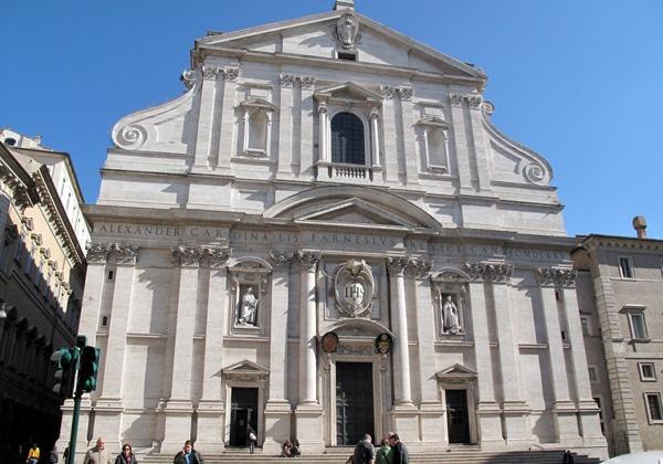 Церковь Джезу в Риме
