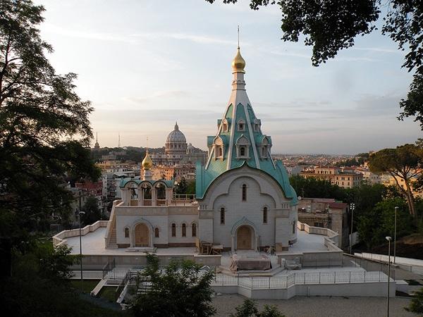 Храм святой Екатерины в Риме