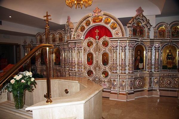 Храм святой Екатерины в Риме - нижний предел