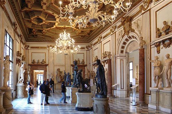 Капитолий в Риме - Новый дворец