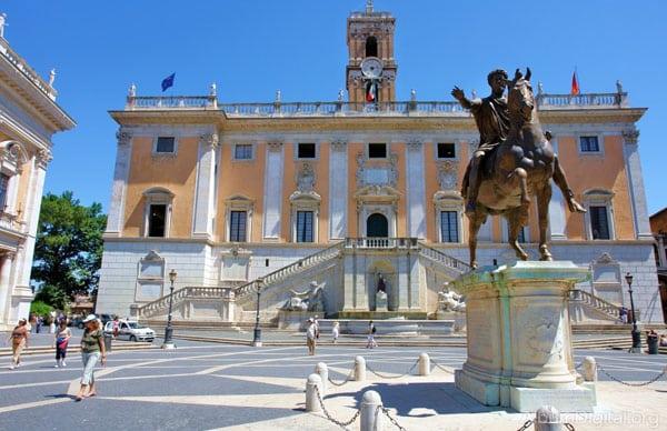 Капитолий в Риме - Дворец Сенаторов