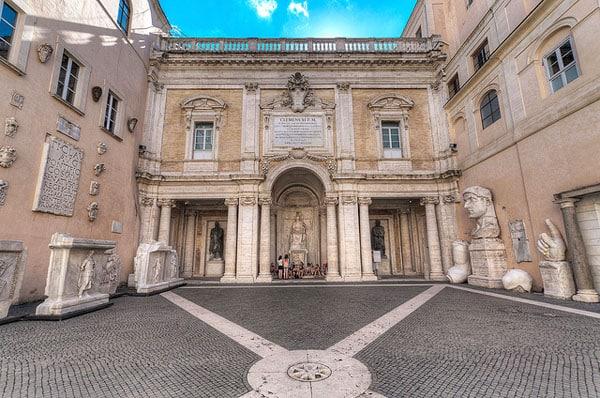 Капитолий в Риме - Дворец Консерваторов