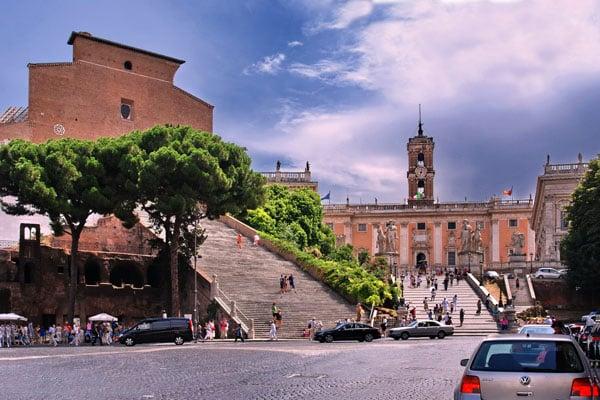 Капитолий в Риме - Базилика Санта-Мария-ин-Арачели