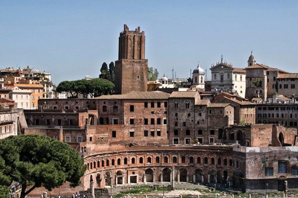Рынки Рима - Рынок Траяна
