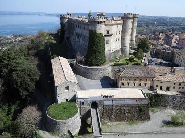 Пляжи Рима - Castello Odescalchi