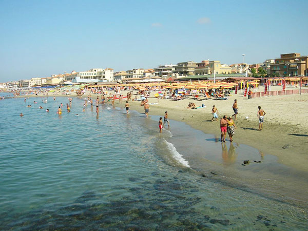 Пляжи Рима - Остия Лидо
