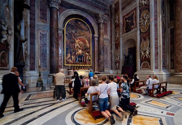 Собор Святого Петра - Капелла Святого Себастьяна