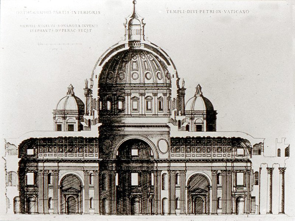 Собор Святого Петра в Ватикане - Проект Микеланджело