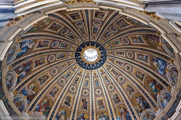 Собор Святого Петра - Роспись купола
