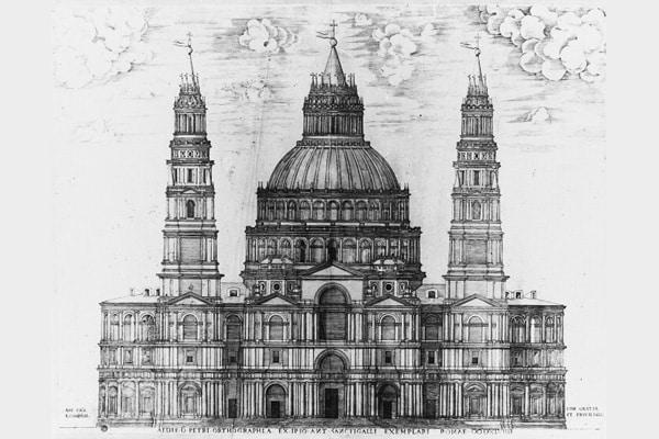 Проект собора Антонио да Сангалло