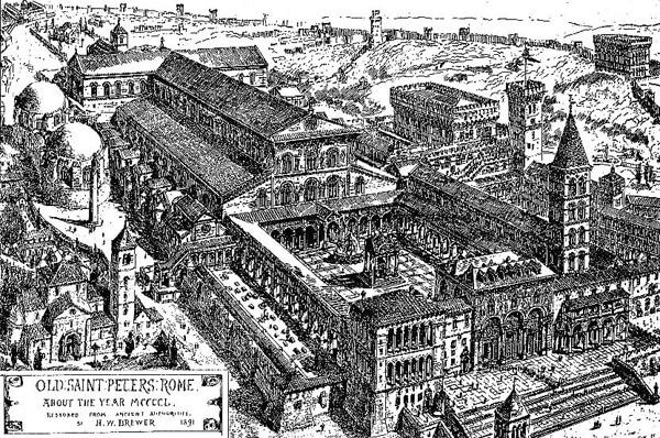 Собор Святого Петра в Ватикане 15 век
