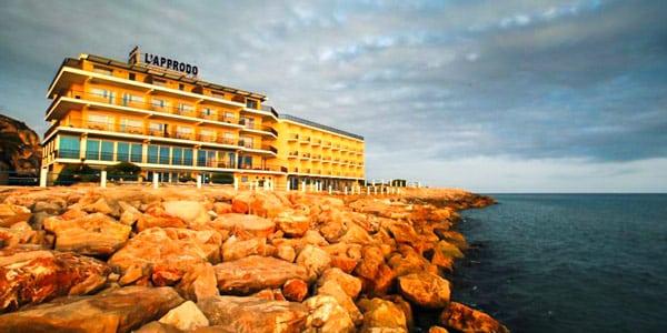 Grand Hotel L'Approdo отель Террачина пляж