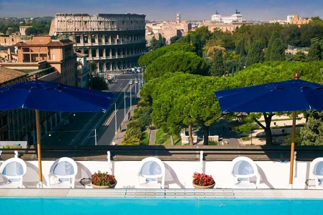 Отель 4 звезды в Риме mercure colosseo