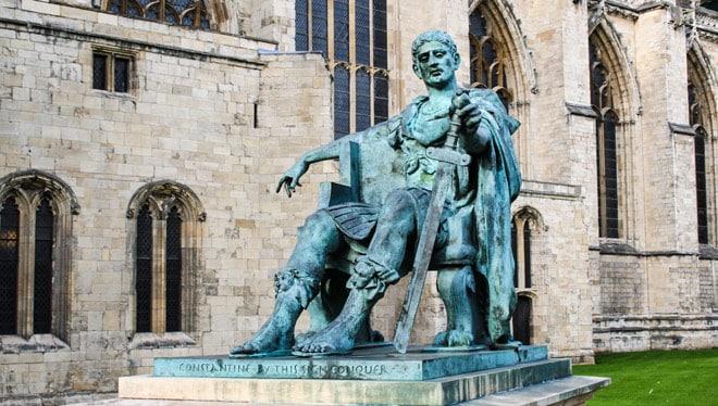Император римской империи Константин Великий